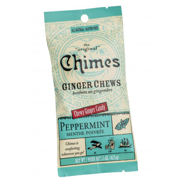 Chimes Ginger Chews - Peppermint